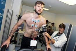 """L. Spalvis atliko medicininę peržiūrą """"Sporting"""" klube"""