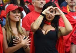 TOP10 seksualiausių EURO2016 žiūrovių