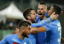 "Čempionų lyga: ""Napoli"" - ""Real"""
