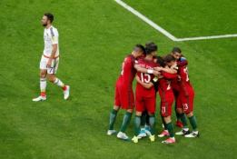 Konfederacijų taurė: Portugalija - Meksika
