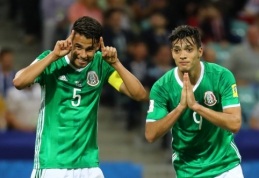 Konfederacijų taurė: Meksika - N.Zelandija