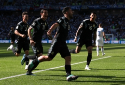 PČ: Argentina - Islandija