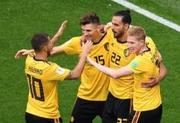 Bronzinis finalas: Anglija - Belgija