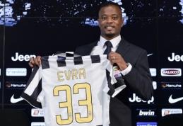"""P.Evra: nesuklydau pasirinkęs """"Juventus"""" klubą"""