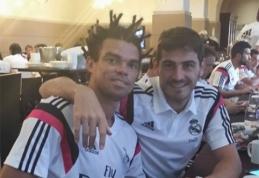 """""""Real"""" gynėjas Pepe varžovus gąsdins nauja šukuosena"""