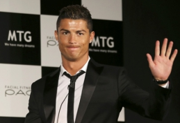 C.Ronaldo: esu pasirengęs dar septynis sezonus žaisti aukščiausiame lygyje