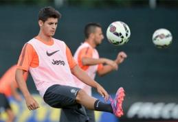 """Prie """"Juventus"""" treniruočių prisijungęs A.Morata iš karto patyrė traumą"""