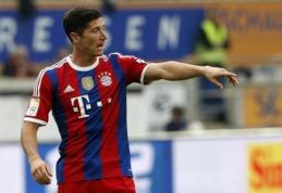 """Bayern"" ekipoje R.Lewandowskis debiutavo įvarčiu (VIDEO)"