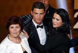 C.Ronaldo mama atskleidė šokiruojantį faktą apie savo sūnų