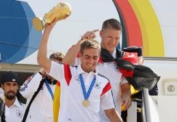 Pasaulio čempionas P.Lahmas baigia karjerą Vokietijos rinktinėje
