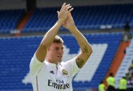 """T.Kroosas: """"Real"""" yra didžiausias klubas pasaulyje"""