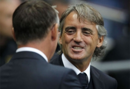 """R.Mancini prognozuoja, kad """"Juventus"""" praras """"Serie A"""" čempionų titulą"""