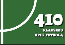 """P.Ambrazevičius išleido nemokamą elektroninę knygą """"410 klausimų apie futbolą""""."""