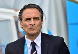 """Buvęs Italijos rinktinės strategas C.Prandelli vadovaus """"Galatasaray"""" komandai"""