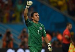 """""""Levante"""" atmetė """"Atletico"""" pasiūlymą už Kosta Rikos rinktinės vartininką K.Navasą"""