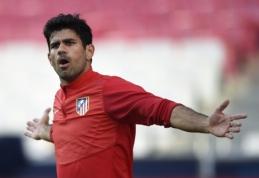 """Koronavirusas įsisuko ir """"Atletico"""" stovykloje – užsikrėtė D. Costa ir S. Ariasas"""