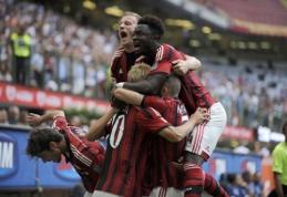 """""""Milan"""" Italijos pirmenybes pradėjo pergale prieš """"Lazio"""""""