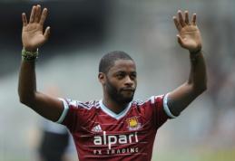 "A.Songas išnuomotas ""West Ham"" klubui"