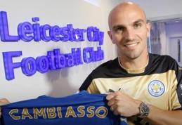 "Veteranas E.Cambiasso žais ""Leicester City"" klube"