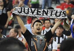 """""""Juventus"""" turas po Aziją ir Australiją pranoko visus lūkesčius"""