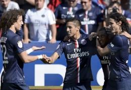PSG iškovojo pirmąją pergalę Prancūzijos pirmenybėse (VIDEO)