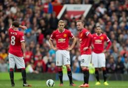 """""""Premier"""" lygos starte - """"Man Utd"""" gerbėjams nemaloni staigmena (VIDEO)"""