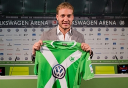 """Oficialu: N.Bendtneris rungtyniaus """"Wolfsburg"""" ekipoje"""