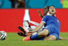 """""""Juventus"""" lenkia """"Arsenal"""" kovoje dėl K.Manolo"""