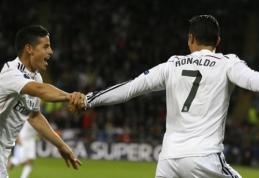 "C.Ronaldo dublis garantavo ""Real"" ekipai pergalę UEFA Supertaurėje (VIDEO)"