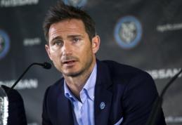 """F.Lampardas oficialiai prisijungė prie """"Man City"""" ekipos"""