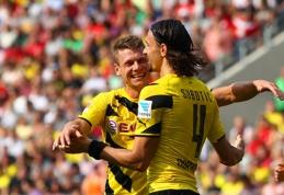"""""""Borussia"""" įspyrė dešimt įvarčių, """"Schalke"""" pralaimėjo anglams (VIDEO)"""