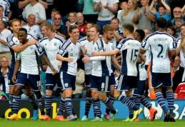 """""""West Brom"""" namuose nepaliko jokių vilčių """"Burnley"""" futbolininkams (VIDEO)"""