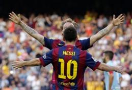 "L.Enrique: ""Jei C.Ronaldo primena M.Jordaną, tuomet L.Messi - W.Chamberlainą"""