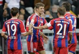 """""""Bayern"""" sutriuškino """"Paderborn"""" ir pakilo į pirmąją vietą Vokietijos čempionate (VIDEO)"""