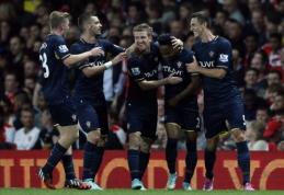 """""""Capital One Cup"""": """"Arsenal"""" ir """"Everton"""" klubai eliminuoti, """"Liverpool"""" triumfavo neįtikėtinoje baudinių serijoje (VIDEO)"""