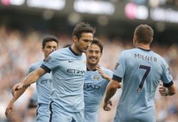 """F.Lampardas negailestingas - anglo įvartis neleido """"Chelsea"""" klubui išplėšti pergalės (VIDEO)"""