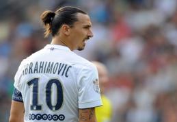 A. van der Meyde: Ibrahimovičius – tokio paties lygio kaip Messi ir Ronaldo