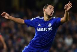 """E.Hazardas netrukus turėtų pasirašyti įspūdingą kontraktą su """"Chelsea"""""""