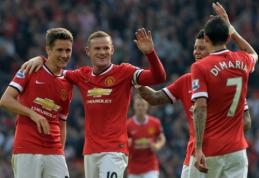 """Įspūdingas """"Man Utd"""" puolimas nepaliko jokių vilčių QPR klubui (VIDEO)"""