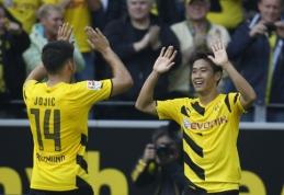 """""""Bayern"""" ir """"Borussia"""" savo tvirtovėse iškovojo pergales"""