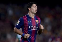 """L.Suarezas """"Barcelona"""" gretose veikiausiai debiutuos per """"El Clasico"""""""