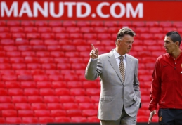 """""""Manchester United"""" paskelbė apie rekordines pajamas"""