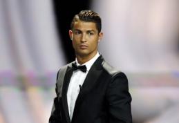 """C.Ronaldo neigia, kad jis yra nepatenkintas """"Real"""" vadovybes darbu"""