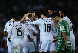 """Madrido """"Real"""" klubas Karaliaus taurėje neturėjo vargo su """"Cornella"""" ekipa"""