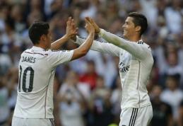 J.Rodriguezas: man patinka pelnyti įvarčius, bet aš ne C.Ronaldo
