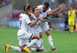 """""""Ligue 1"""" - penki Carloso Eduardo įvarčiai ir nutrūkusi """"Marseille"""" serija"""