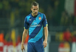 """L.Podolski: greičiau jau pragaras užšals, nei aš persikelsiu į """"Tottenham"""""""