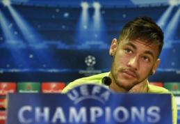 """Neymaras: """"Rungtynės prieš """"Ajax"""" - tokios pačios svarbos kaip """"El Clasico"""""""