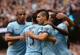 """""""Man City"""" ir """"Chelsea"""" šventė pergales, """"Arsenal"""" neįveikė """"Hull City"""" ekipos (VIDEO)"""