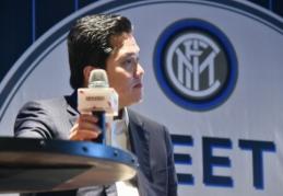"""""""Inter"""" prezidentas nori, jog Čempionų lygoje rungtyniautų daugiau komandų"""